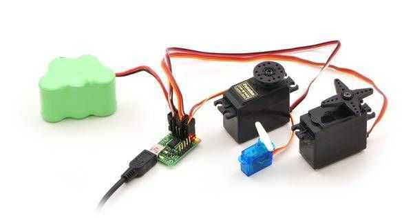 Buy 24 channel usb servo motor control board with cheap price for How to control servo motor