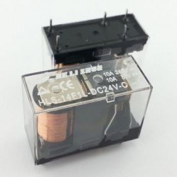 HELISHUN - 24V 10A Single Contact Relay - HLS-14F1L-DC24V-C