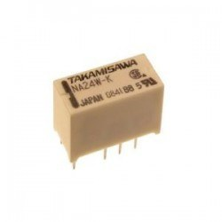 TAKAMISAWA - 24V Double Contact Relay -NA24W-K