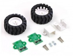Pololu - 42x19mm Wheel and Encoder Set - Teker - PL-1218
