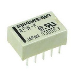 TAKAMISAWA - 5V Double Coil Double Contact Relay A5W-K