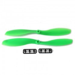 China - 8045 Green Plastic CW/CCW Propeller Set