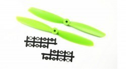 China - 9045 Green Plastic CW/CCW Propeller Set
