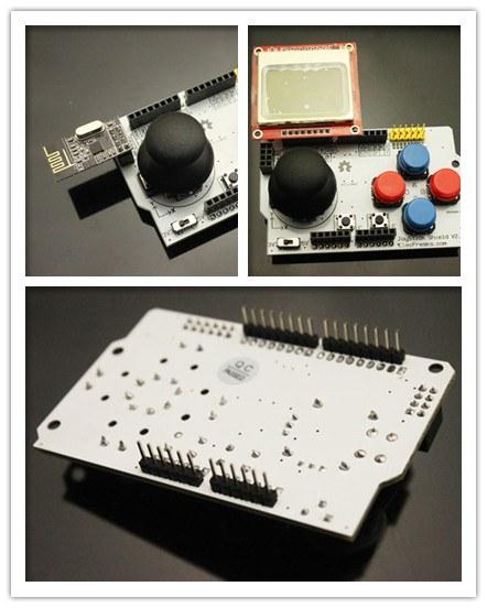Buy arduino joystick shield with cheap price