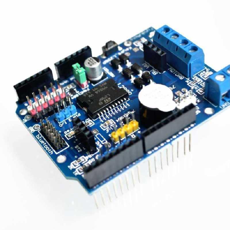 Arduino Smd L298 Ift Motor S R C Shield Sat N Al