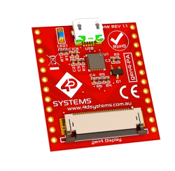 4D Systems - Programming Adaptor for Picaso/Diablo Gen4 Display Modules