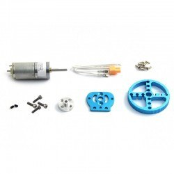 Makeblock - Makeblock 25mm DC Motor Paketi - 25mm DC Motor Pack-Blue