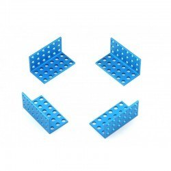 Makeblock - Makeblock Bracket 3x6 - Blue (4 Pack)