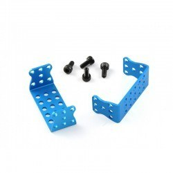 Makeblock - Makeblock MEDS15 Servo Motor Bracket - Blue (Pair)