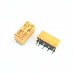 NAIS - Nais 12V 10 Pin Double Contact Double Coil Relay - DS2Y-SL2-DC12V