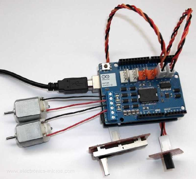 Orjinal Arduino Motor Shield Rev3 Sat N Al