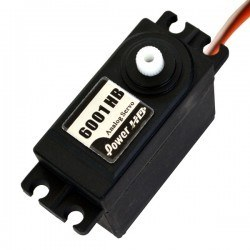 Power HD - PowerHD Standart, Plastik Dişlili Analog Servo Motor - HD-6001HB