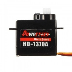 Power HD - PowerHD Ultra Hafif Mikro Analog Servo Motor - HD-1370A