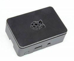 Raspberry Pi - Raspberry Pi B+/2/3 Black Case