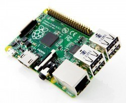 Raspberry Pi Type B Plus + - 512 MB (New Version) - England