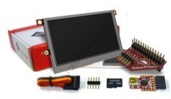 4D Systems - Raspberry Pi 4.3′′ Touch LCD Module Kit - SK-43PT-PI