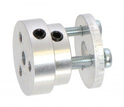 Pololu - Aluminum Scooter Wheel Adapter for 4mm Shaft - PL2672