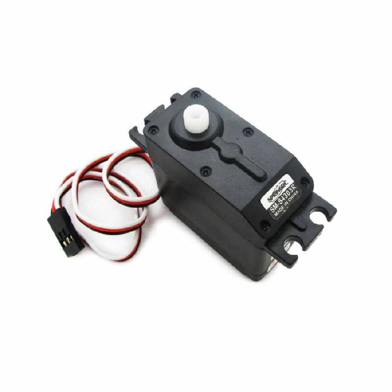 Buy sm 4303r continuous rotary servo motor with cheap price for Servo motor for sale