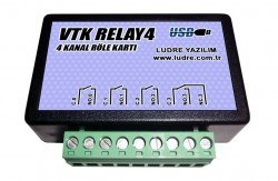 Ludre - VTK RELAY4 Compatible with LabVIEW 4 Channel High Speed Relay Board