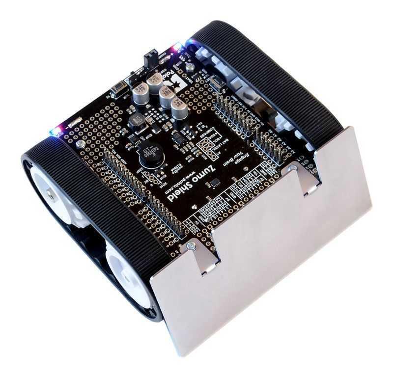 Zumo arduino temelli paletli mini sumo robot kiti pl