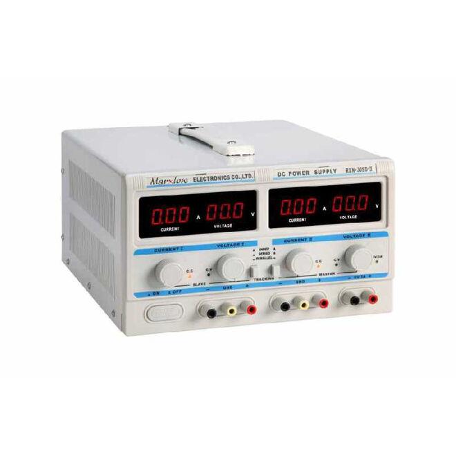 0-30 Volt 5 Ampere 2-Channel Adjustable Power Supply (RXN-305D-II)