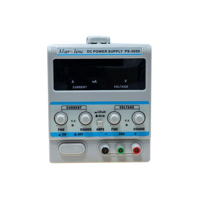 0-30 Volt 5 Ampere Adjustable Power Supply (PS-305D)