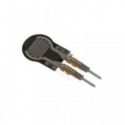 Pololu - 0.25 Inch Kuvvete Duyarlı Dairesel Sensör - Force-Sensing Resistor - 0.25 Inch Diameter Circle, Short Tail - PL-2727
