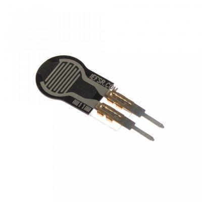 0.25 Inch Kuvvete Duyarlı Dairesel Sensör - Force-Sensing Resistor - 0.25 Inch Diameter Circle, Short Tail - PL-2727