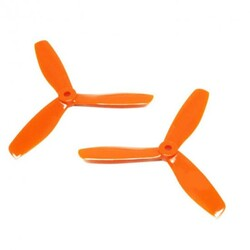 China - 05X45 3-blade Propeller - CW & CCW - Orange