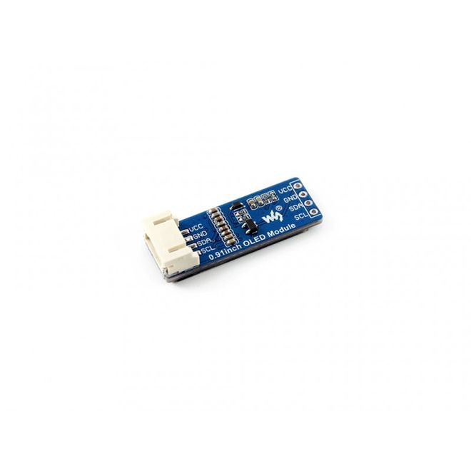 WaveShare 0.91 inch OLED Ekran - 128x32