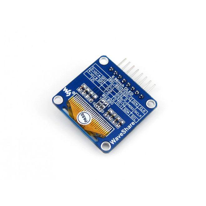 WaveShare 0.96 inch OLED Ekran - 128x64 (A)
