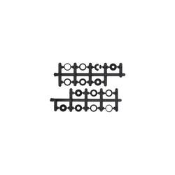 09x4.5 3 Kanatlı Pervane - CW & CCW - Kırmızı - Thumbnail