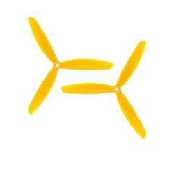 09x4.5 3 Kanatlı Pervane - CW & CCW - Sarı - Thumbnail