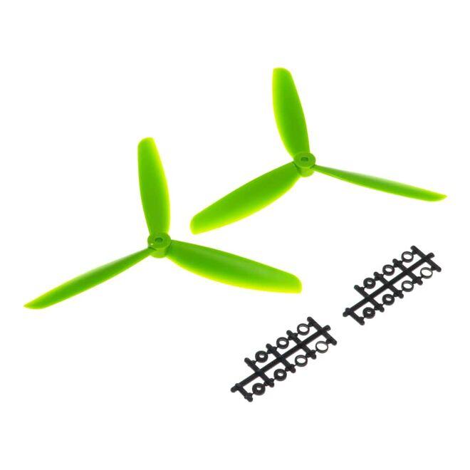 09x4.5 3 Kanatlı Pervane - CW & CCW - Yeşil