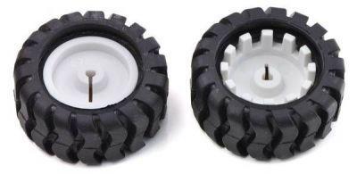 Wheel 42x19 mm Pair - 42x19 Tekerlek Çifti - PL-1090