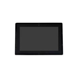 WaveShare - WaveShare 10.1 Inch HDMI Kapasitif Dokunmatik Case'li IPS LCD Ekran - 1280×800, IPS, (B)