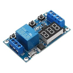 China - 1 Channel Delay Power-off Relay Module