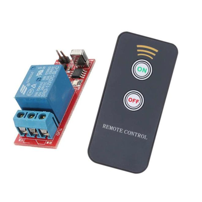 1 Channel IR Remote Relay Board (On/Off)