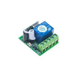 Robotistan - 1 Kanal 433 MHz Kablosuz RF Alıcılı Röle Kartı