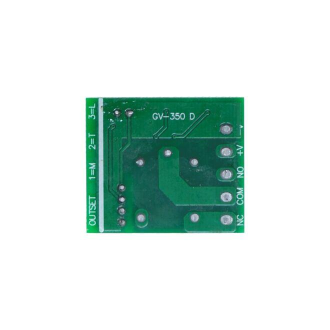 1 Kanal 433 MHz Kablosuz RF Alıcılı Röle Kartı