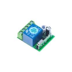 1 Kanal 433 MHz Kablosuz RF Alıcılı Röle Kartı - Thumbnail