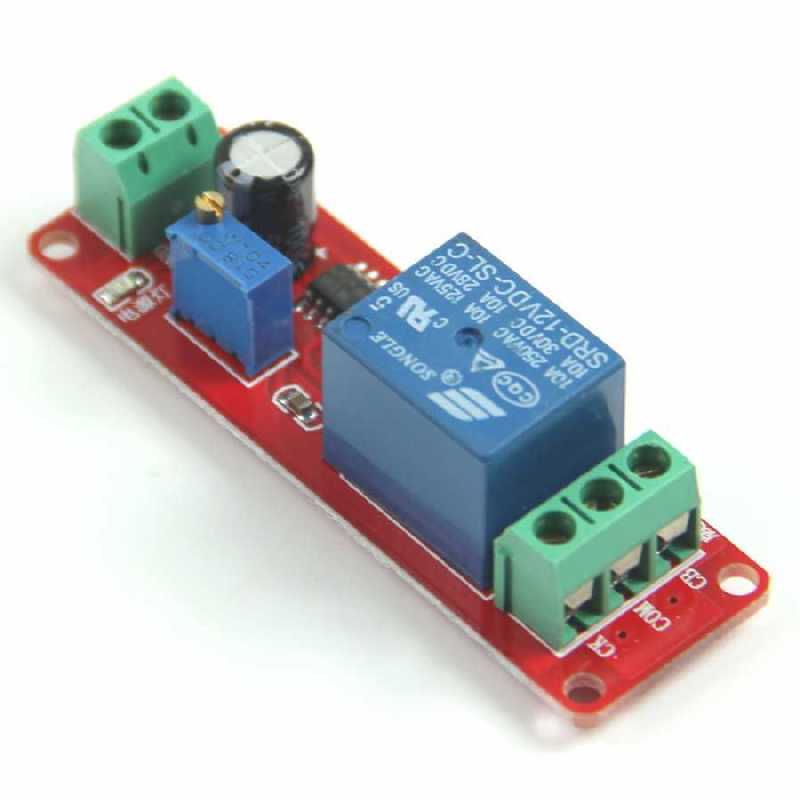 Buy 1 Way 12v Delay Timer Switch Adjustable Relay Module With Cheap Price