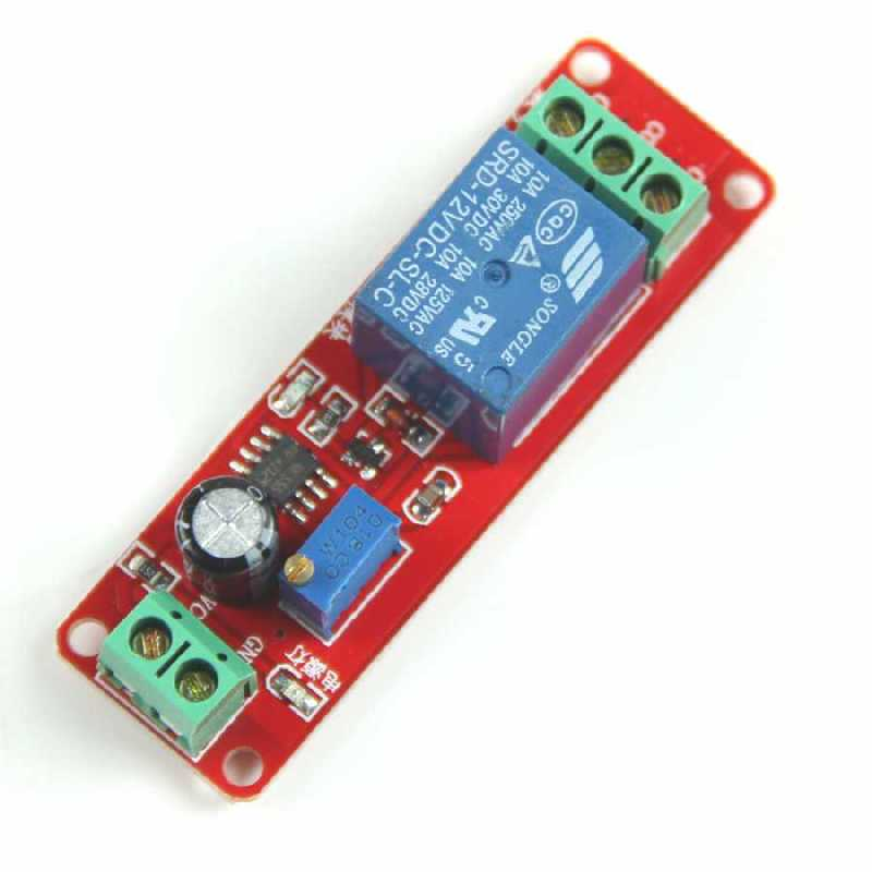 Buy 1 Way 12v Delay Timer Switch Adjustable Relay Module