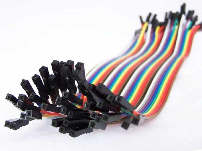 10 cm 40 Pin F-F Jumper Cable
