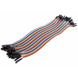 Robotistan - 10 cm 40 Pin F-F Jumper Cable
