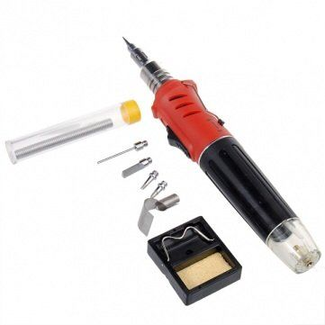 10 in 1 Gas Soldering Iron, Built Inj Igniter