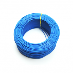 Robotistan - 100 Meter Multicore Mountage Cable - Blue