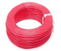 Robotistan - 100 Meter Multicore Mountage Cable - Pink