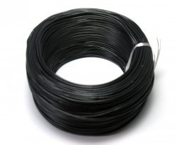 Robotistan - 100 Meter Single Core Mountage Cable - Black