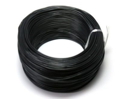 100 Meter Single Core Mountage Cable - Black